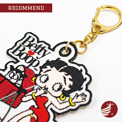 Betty Boop™ Pudgy™ Collection ワッペンチャーム