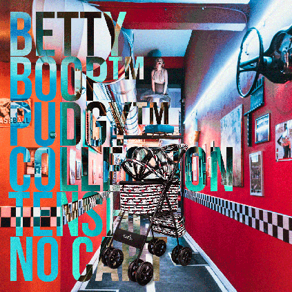 Betty Boop™ Pudgy™ Collection 天使のカート™ Collection